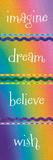 Kid Dreams Rainbow Reproduction d'art