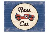 Race Car Blues Reproduction d'art