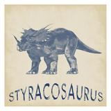 Styracosaurus Dino Reproduction d'art