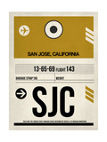 SJC San Jose Luggage Tag I