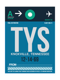 TYS Knoxville Luggage Tag II