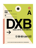 DXB Dubai Luggage Tag I