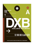 DXB Dubai Luggage Tag II