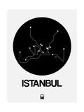 Istanbul Black Subway Map
