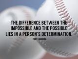 A Person's Determination