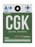 CGK Jakarta Luggage Tag II