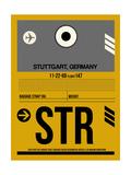 STR Stuttgart Luggage Tag I