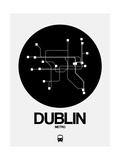 Dublin Black Subway Map