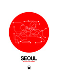 Seoul Red Subway Map