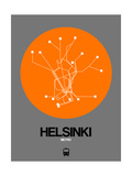 Helsinki Orange Subway Map
