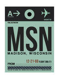 MSN Madison Luggage Tag I