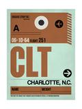 CLT Charlotte Luggage Tag I