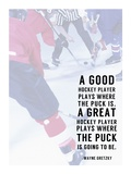 Great Hockey Player