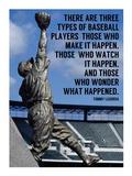 Three Types of Baseball Players