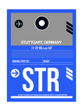 STR Stuttgart Luggage Tag II