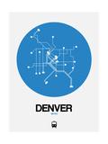 Denver Blue Subway Map