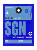 SGN Ho Chi Minh City Luggage Tag I