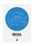 Seoul Blue Subway Map