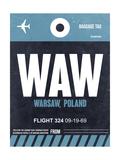 WAW Warsaw Luggage Tag II