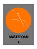 Amsterdam Orange Subway Map