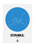 Istanbul Blue Subway Map