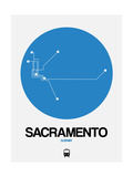 Sacramento Blue Subway Map