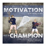 Motivation of Wanting to Win