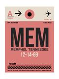 MEM Memphis Luggage Tag II