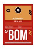 BOM Mumbai Luggage Tag II