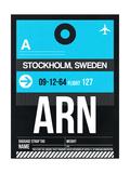ARN Stockholm Luggage Tag I