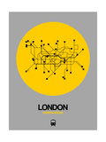 London Yellow Subway Map