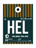 HEL Helsinki Luggage Tag II
