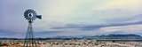 Industrial Windmill on a Landscape  Mojave National Preserve  San Bernardino County