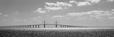 Bridge across a Bay  Sunshine Skyway Bridge  Tampa Bay  Florida  USA