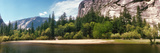 Mirror Lake in Yosemite National Park  Mariposa County  California  USA