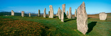 View of the Callanish Standing Stones  Isle of Lewis  Outer Hebrides  Scotland