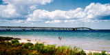 Bridge across a Lake  Mackinac Bridge  Mackinaw City  Michigan  USA