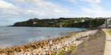 View of a Suburb  Howth  Dublin Bay  Dublin  Leinster Province  Republic of Ireland