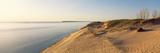 Sand Dunes at the Lakeside  Sleeping Bear Dunes National Lakeshore  Lake Michigan  Michigan  USA