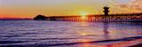 Seal Beach Pier at Sunset  Seal Beach  Orange County  California  USA