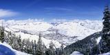 Ski Slopes in Sun Valley  Idaho  USA