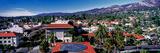 Elevated View of Buildings in the City  Santa Barbara  California  USA