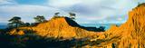 Rock Formations on a Landscape  Broken Hill  Torrey Pines State Natural Reserve  La Jolla