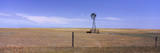 Industrial Windmill on a Landscape  Highway 2-71  Oglala National Grassland  Sioux County