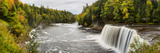 Elevated View of Waterfall  Tahquamenon Falls  Tahquamenon Falls State Park  Chippewa County