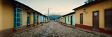 Houses Along Cobblestone Street  Trinidad  Sancti Spiritus  Cuba
