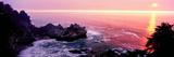Big Sur Coast at Sunset  California  USA
