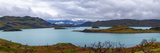 View of the Nordenskjold Lake in Torres Del Paine National Park  Patagonia  Chile