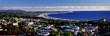 Elevated View of City at Waterfront  Ventura  California  USA