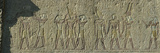 Egyptian Hieroglyphs on the Wall  Temple of Amun  Luxor  Egypt